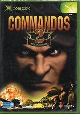 COMMANDOS 2 - MEN OF COURAGE / MICROSOFT XBOX / NEUF SOUS BLISTER D'ORIGINE / VF