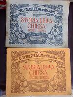 STORIA DELLA CHIESA PARTE PRIMA E TERZA 1928/1929