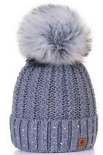 Unisex Kids Children Knitted Beanie Hat Hats Cap Winter Worm Girls Boys Bubble P