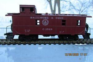 Athearn HO Scale Baltimore & Ohio Cupola Caboose