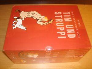 Die Abenteuer von Tim und Struppi Box Gesamtausgabe 8 Hardcover HC im Schuber