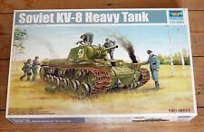 Trumpeter 1/35 scale Russian KV-8 Heavy Tank kit