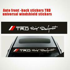 DIY Auto Car RED TRD Body Personalized Stickers Front Rear Windshield Sticker