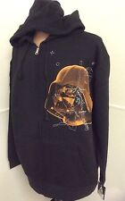 Star Wars Sweater Celebration IV Darth Vader Hooded Jacket Blk Large New/w Tags