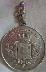 MED7726 - MEDAILLE SOCIETE DE TIR D'ALGER