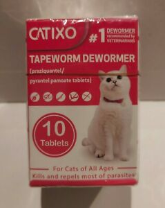 CATIXO TAPEWORM DEWORMER 10 TABLETS