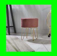 Velvet Footstool Pink Bedroom Footstool Indoor Design Home Vintage Interior