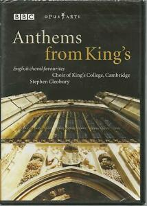 Anthems from King's - English Choral Favourites Stephen Cleobury DVD NEW NTSC