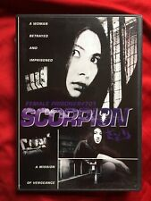 FEMALE PRISONER #701 SCORPION DVD TOKYO SHOCK MEIKO KAJI R1 w/screen RARE
