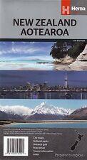 New Zealand Map Aotearoa  Hema New freepost Australia wide
