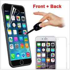 10 x  iPhone 6 Plus 5.5 Clear Screen Protector Guard  Apple  5 Front and 5 back
