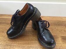 Dr Martens Black Leather AL001, UK size 4 ** US size 6 **