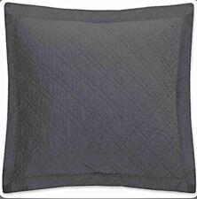 Levtex Home Linen Cotton Collection Euro Sham Sasha In Charcoal