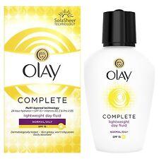 Olay Essentials Complete Care Day Fluid Moisturiser Normal/Oily SPF15 - 100ml