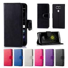 LEATHER Wallet Case Flip Cover Pouch For LG G6 LG Q6 LG Q6 PLUS K4 K8 K10 2017