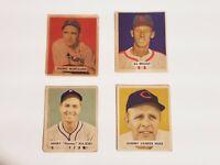 1949 Bowman Baseball Danny Murtaugh #124 Pittsburgh Pirates Set Break