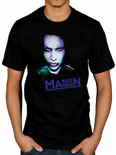 Official Marilyn Manson Oversaturated T-Shirt Born Villian The Pale Emperor