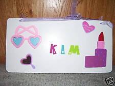 Princess rectangle plaque for Kim