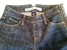 Gap Jeans Low Rise Boot Cut Side Zip Women's Size 0