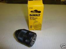 """DEWALT DT7044 13MM 2PCE KEYLESS DRILL CHUCK 1/2""""X 20UNF CARBIDE JAWS"""