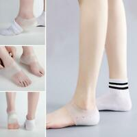 Unisex Invisible Height Lifting Increase Socks Heel Insoles Silicone S8O8