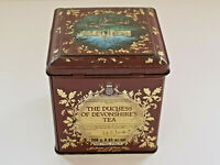 Rare JACKSONS OF PICCADILLY Duchess Of Devonshires Tea Tin Box VGOOD CONDITION