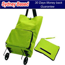 Fordable Shopping Bag with Wheels Pulley  Reusable Shopping Trolley Bags