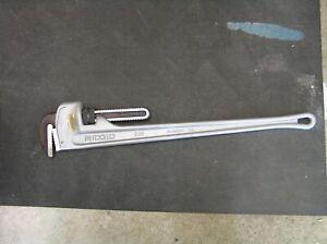 RIDGID #836 STRAIGHT PIPE (31110) 36 in. Aluminum Straight Pipe Wrench