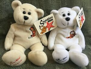 Garfield 2 Collecticritters Signature Series Bear Paws, White/Tan