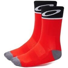 Oakley Cycling Socks 93285 Red Quick Dry Performance Adult Med Large or X-Large