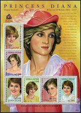 Sierra Leone 2007 SG#4517a Princess Diana 10th Memoiral MNH Sheetlet #D75729