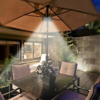 Umbrella Pole Lights Led Wireless 3 Lighting Mode Patio Outdoor Garden Tent New
