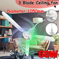 5 Blade Ceiling Fan Cooler Electric Portable Blade Hanging 220V 20W/60W