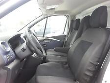 2+1 Sitzbezüge Passgenau für Renault Traffic 2014+ Schw. Schonbezüge  Sitzbezug