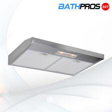 "30"" Convertible Under Cabinet Stainless Steel 3 Speeds Push Control Range Hood"