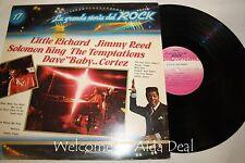 "Little R.Jimmy Reed Solomon King The Temptations Dave Baby Cotez LP 12"" (VG)"