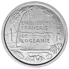 French Oceania 1 Franc 1949 Unc