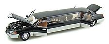 LIMOUSINE 1/24 LINCOLN BLACK AND GRAY