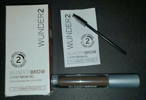 Wunder2 WUNDERBROW Black/Brown 1-Step Brow / Eyebrow Gel  Eyebrow In 2 Minutes
