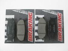 2 COPPIE PASTIGLIE FRENO ANTERIORI YAMAHA 750 XV VIRAGO (Rear Drum Model) 1990