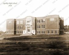 Opelika, Alabama High School 1919 8x10 Sepia Photo FREE SHIPPING!