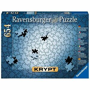 Ravensburger Krypt Silver 654 Piece Puzzle  - Brand new sealed - Ships FREE!