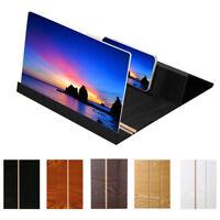 12 inch Logs 3D mobile phone screen Magnifier video desktop folding bracket