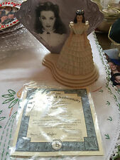 Gone With The Wind Bradford Exchange Scarlett Figurine A Legend Brought To Life