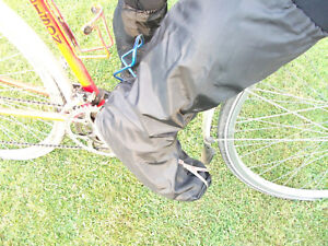 Eager Sports Waterproof cycling overshoes spatts Made in Wales
