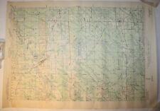 Vintage USGS Map Phillips, WI 1943