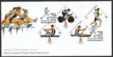2008 New Zealand Beijing Olympic Games First Day Cover
