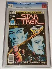 STAR TREK #1 CGC 9.8 MARVEL COMICS APRIL 1980 NOT PRESSED NEWSSTAND EDITION