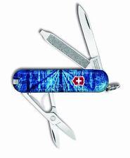 Victorinox Swiss Army Key Chain Knife Classic Ltd Ed - Block Chain - Free Ship
