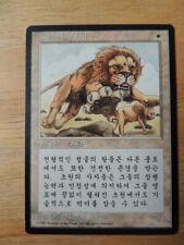 Magic Mtg, SAVANNAH LIONS, KOREAN, 4ª Edición, Good